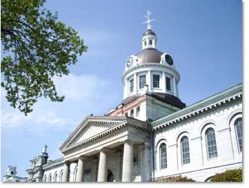 Kingston Ontario City Hall.